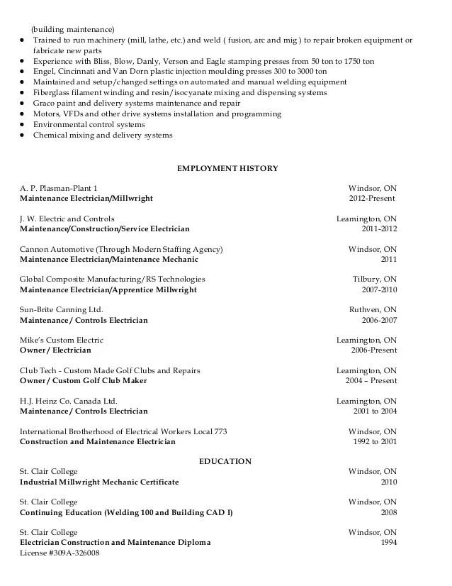 apprenticeship resume - Ozilalmanoof - electrician apprentice resume