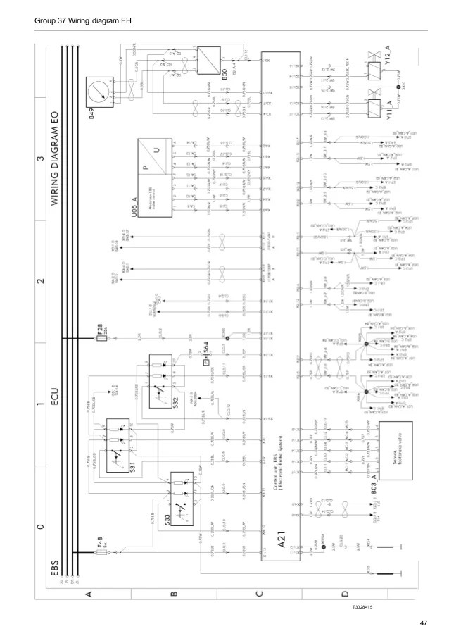 wiring diagram motor volvo d13a