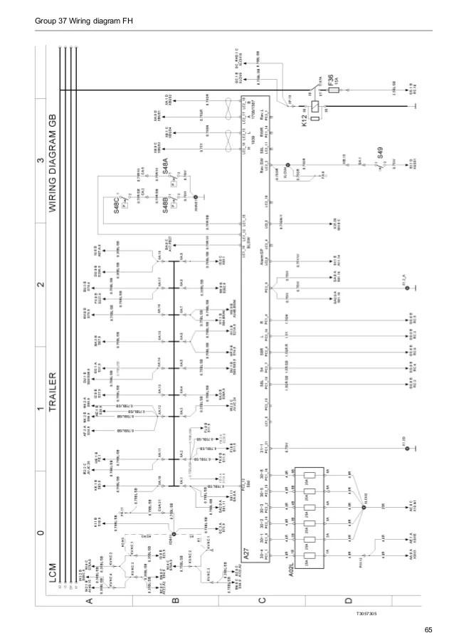 volvo wiring diagrams fm9 fm12 fh12 fh16 nh12