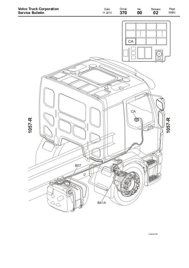 volvo wia truck wiring schematic