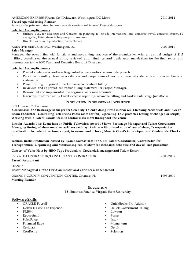 disney resume - Towerssconstruction