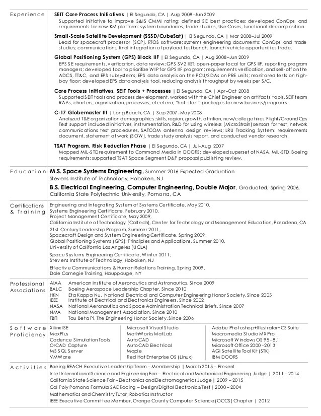 Boeing Resume Builder] Charming Boeing Resume Photos Example