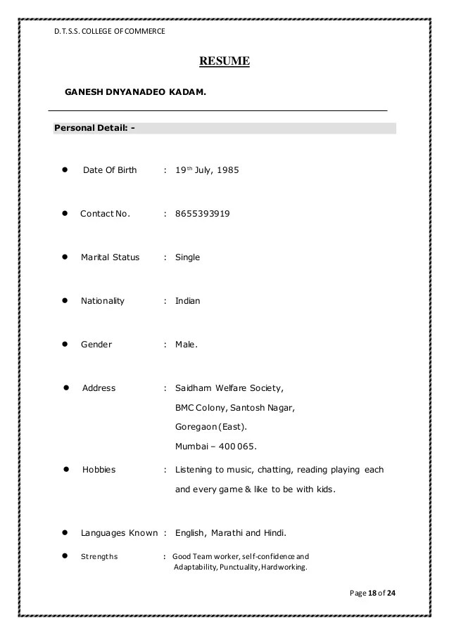 simple marriage biodata format - Josemulinohouse