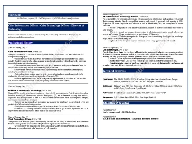 Best Resume Examples For 2013 Sample Resume Free Resume Examples Cio Resume Format 2014