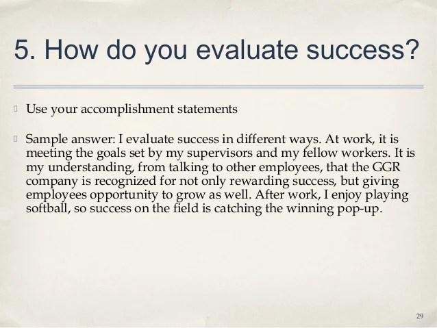 how do you determine or evaluate success - Boatjeremyeaton - how do you evaluate success