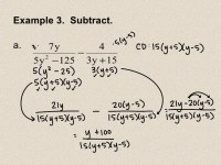 Adding Rational Expressions Worksheet With Answers - 8 5 ...