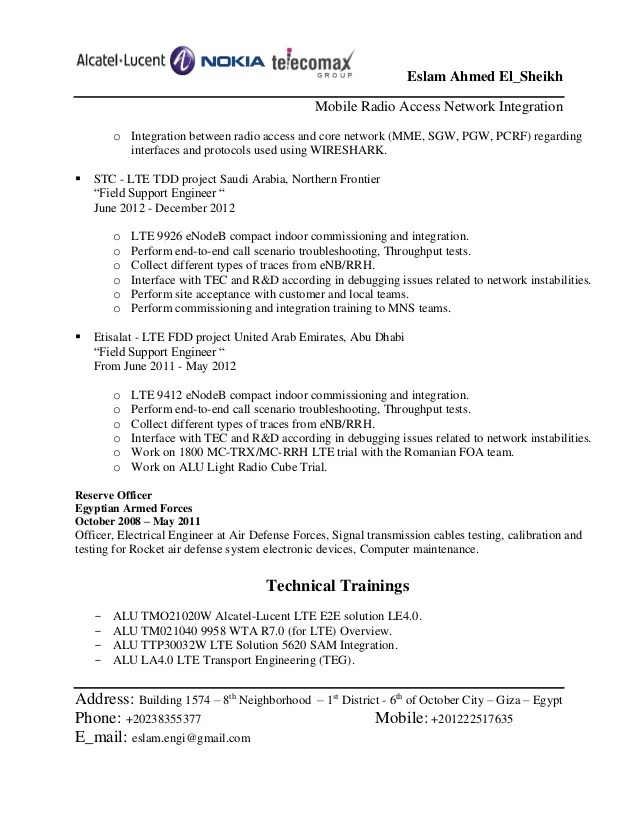 Broadcasting Engineer Resume Download Broadcast Engineer Sample - International Broadcast Engineer Sample Resume