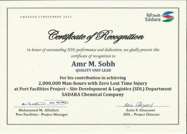 sponsor certificate of appreciation - Pinarkubkireklamowe