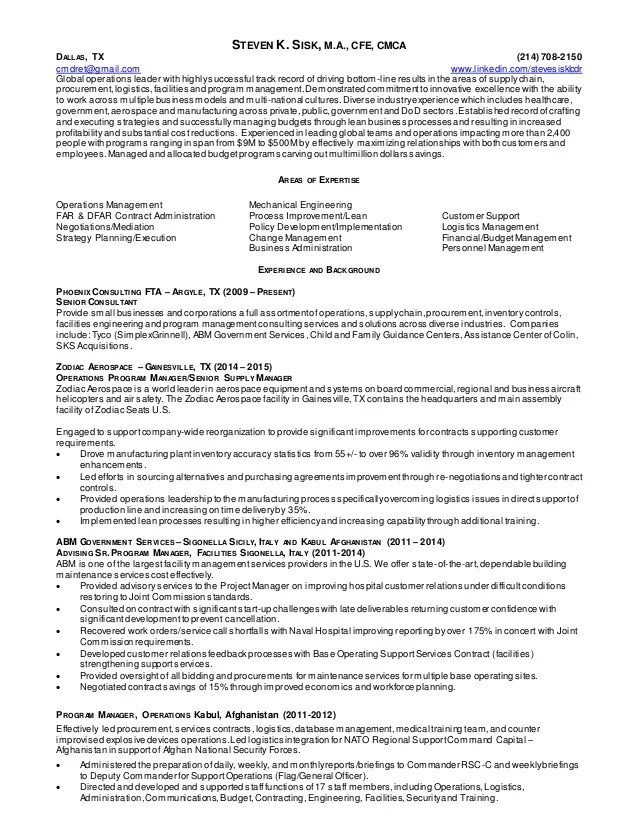 plant equipment manager resume - Pinarkubkireklamowe