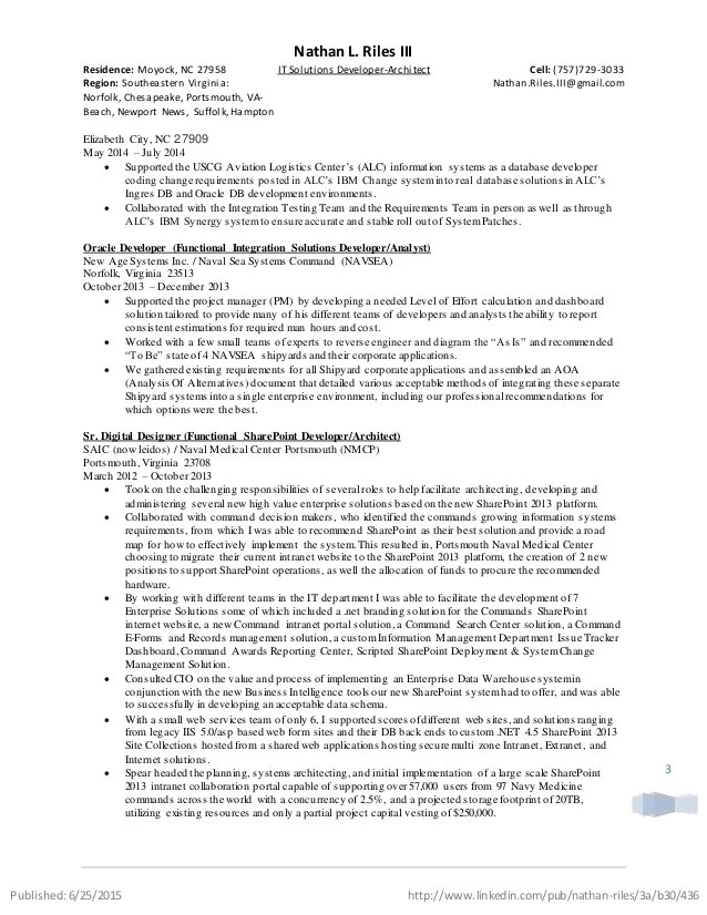 solutions architect resumes - Intoanysearch - system architect resume