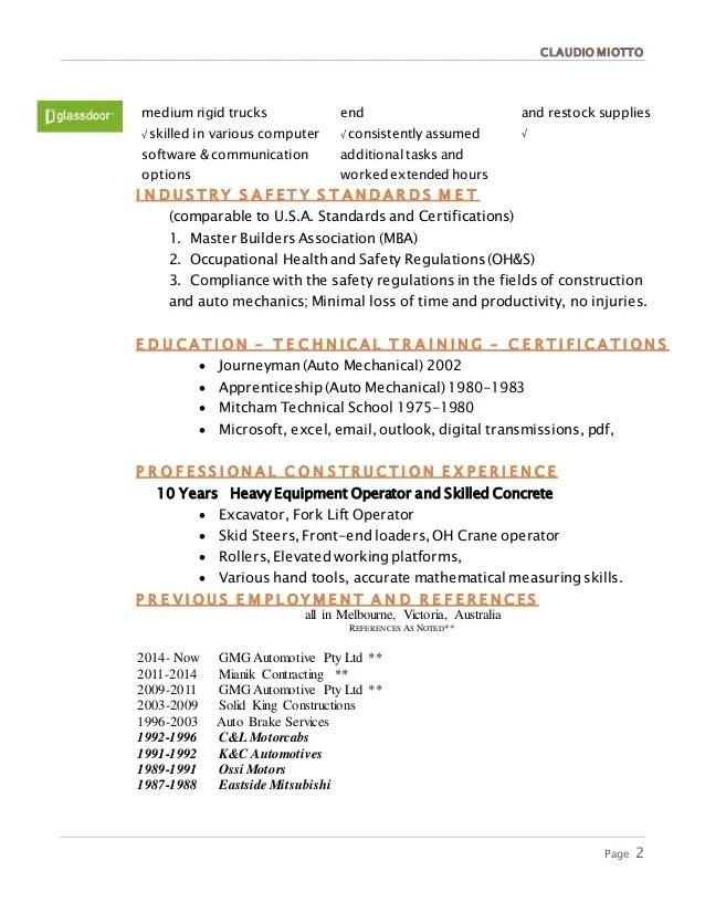 heavy equipment operator resume templates - Funfpandroid - field radio operator sample resume