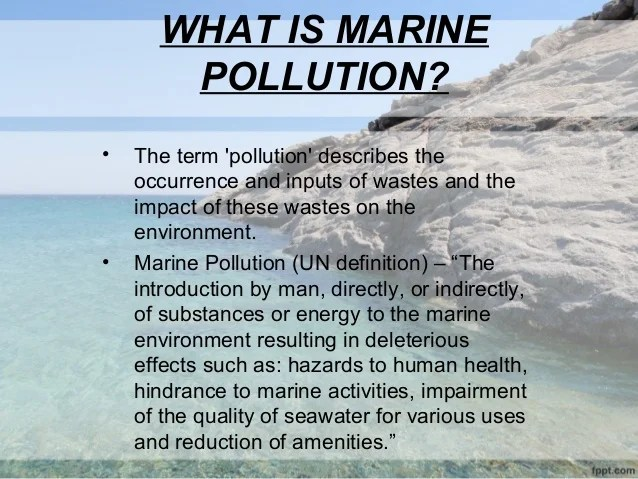 Marine Pollution State Of Indian Ocean Copy