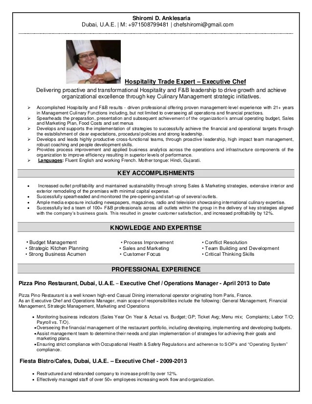 cv for hospitality - Nisatasj-plus - Hospitality Resume