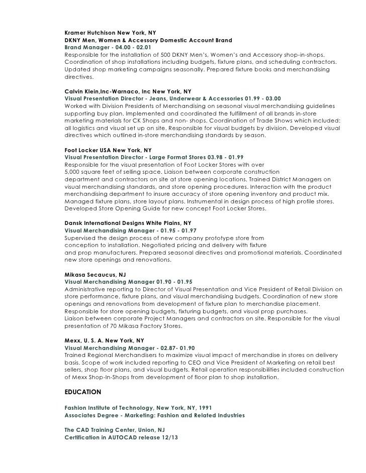 regional visual merchandiser resume - Ozilalmanoof
