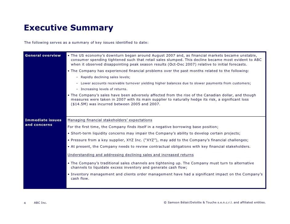 executive overview template - Manqalhellenes