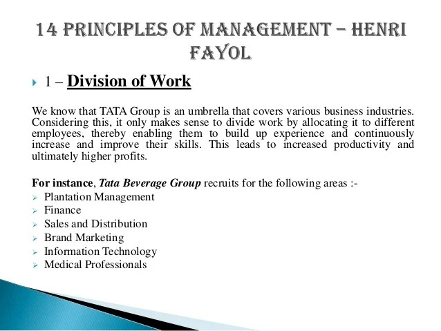 Leadership Case Studies Download Case Study Pdf And 14 Principles Of Management By Henri Fayol With Case Study