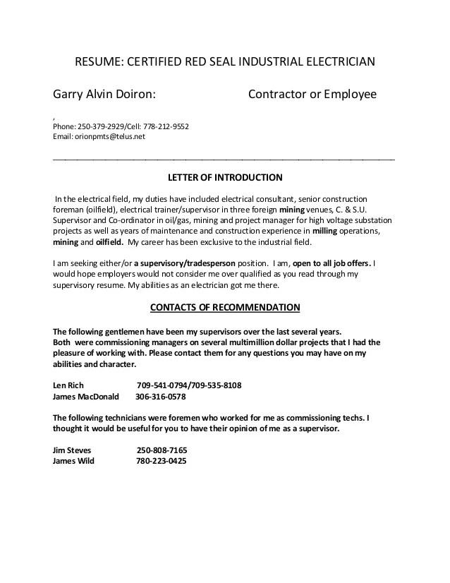 Best Apprentice Electrician Resume Example LiveCareer - substation apprentice sample resume