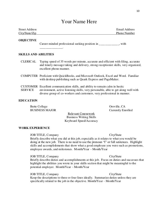 resume highlight words - Onwebioinnovate - words to use on your resume