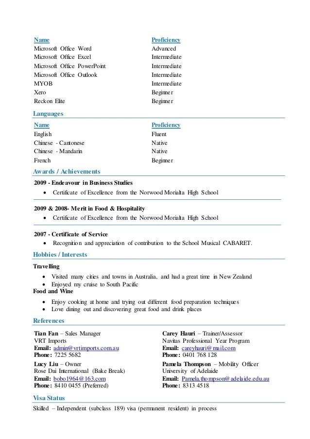 resume words proficient - Ozilalmanoof