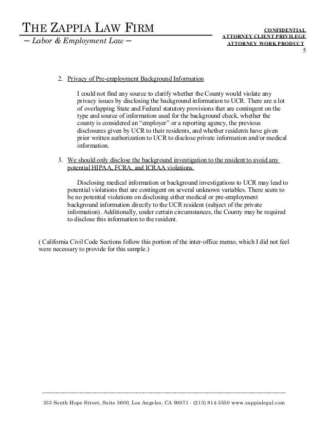 memorandum for employees sample - Roho4senses