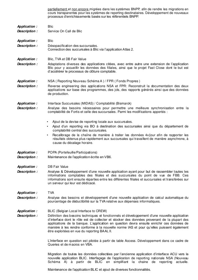 application pour fair un cv