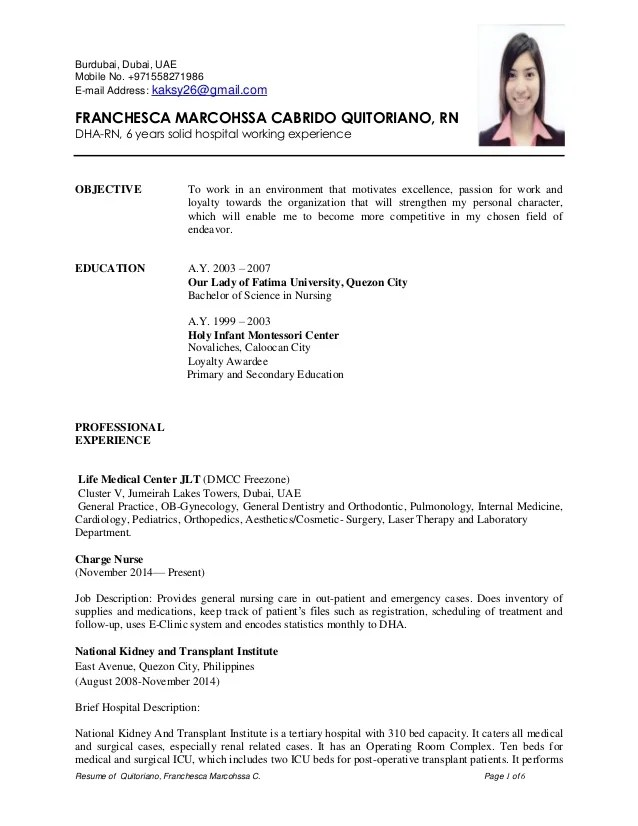 nurses cv format - Maggilocustdesign - theatre nurse sample resume