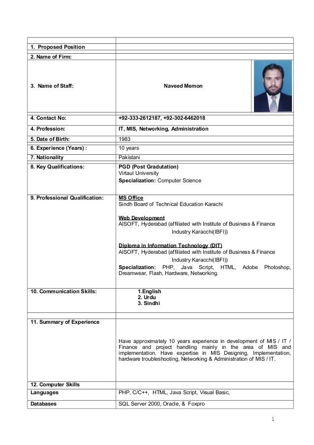 Mis resume sample india - mis officer sample resume
