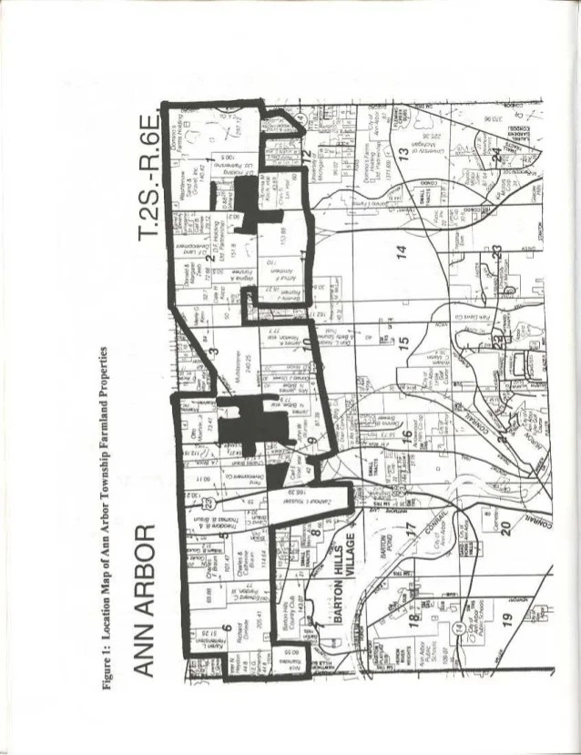 Ann Arbor Township 1999 Farmland Analysis & Cost of