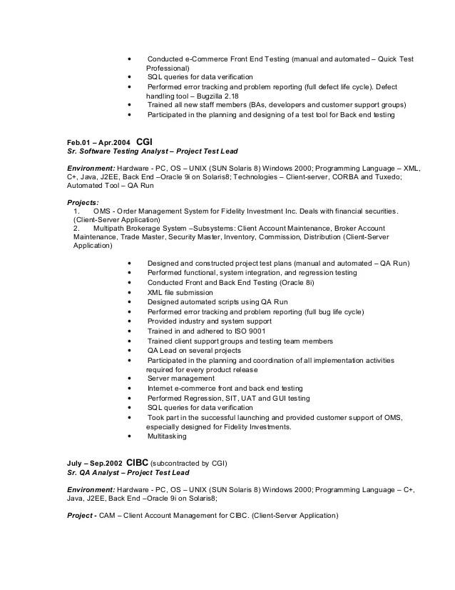 100 java j2ee sle resume sle consultant resume