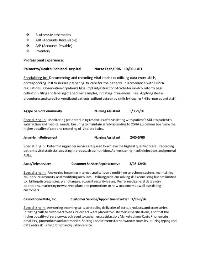 appointment setter resume - Minimfagency