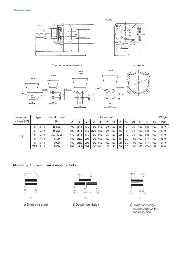 abb current transformer wiring diagram