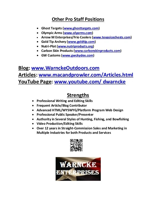 Resume Writing Resume Examples Cover Letters Dustinwarnckeoutdoorresume