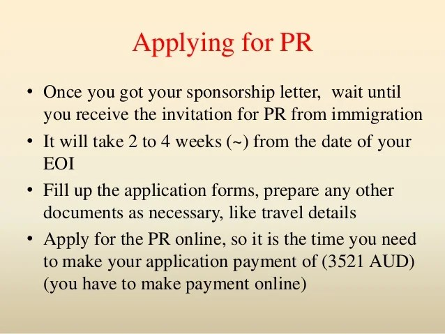 permanent residency letter of recommendation