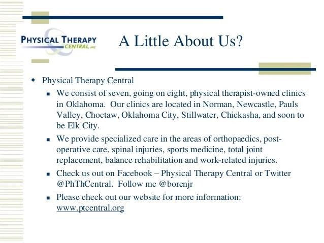 questions to ask a physical therapist about their career