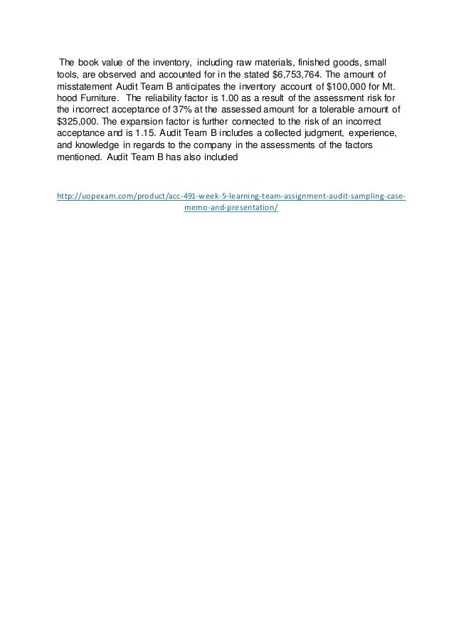 audit announcement memo - Apmayssconstruction