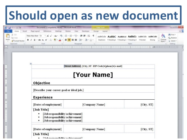 resume downloadable templates 7 free resume templates primer 7
