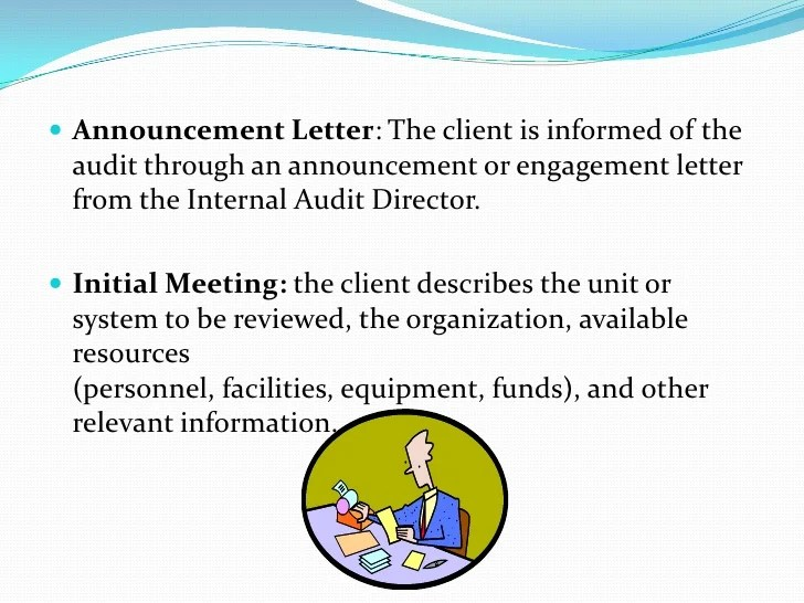 audit announcement memo - Ukranagdiffusion