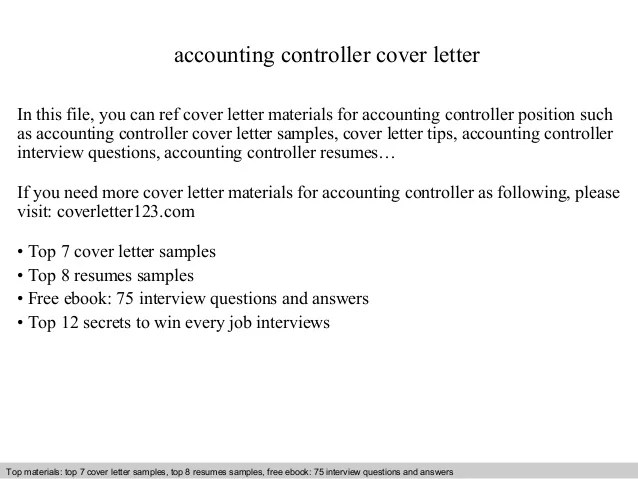 accounting controller resume - Yenimescale - accounting controller resume