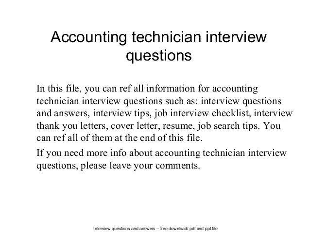 it technician interview questions and answers