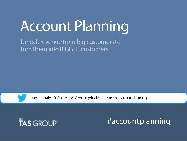 Strategic Account Plan Template Salesforce  Sponsorship Request Nz