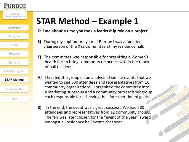 resume star format - Solidgraphikworks