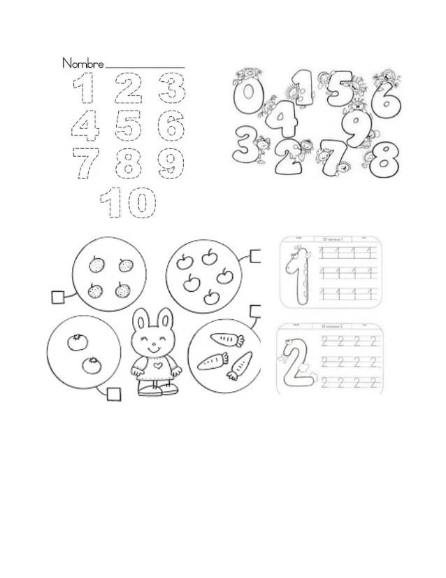 examen para preescolar
