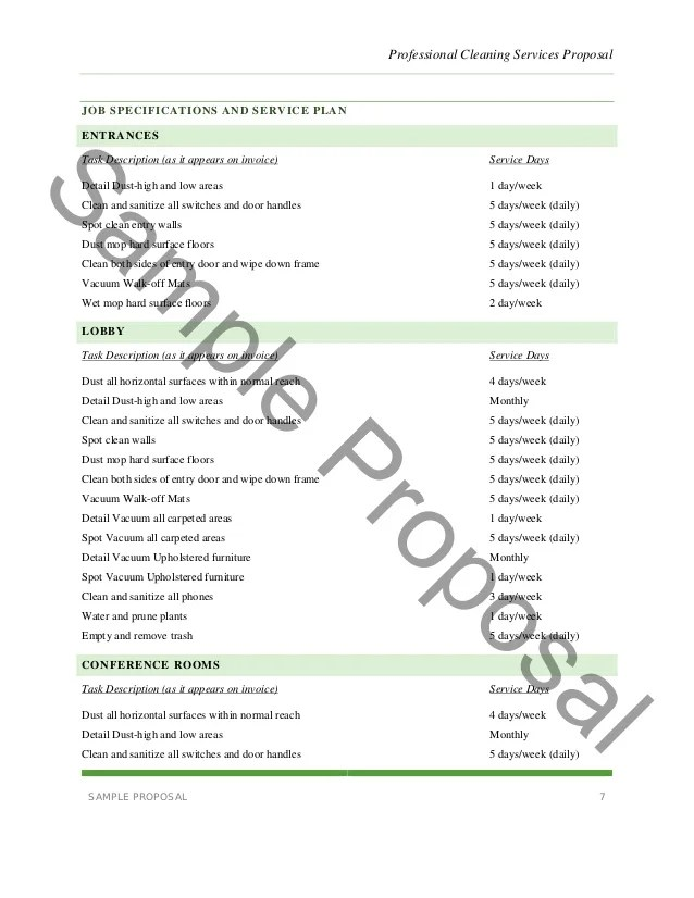 services proposal sample - Josemulinohouse
