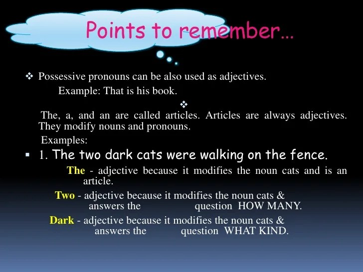adjective powerpoint - Tikirreitschule-pegasus - types of power points