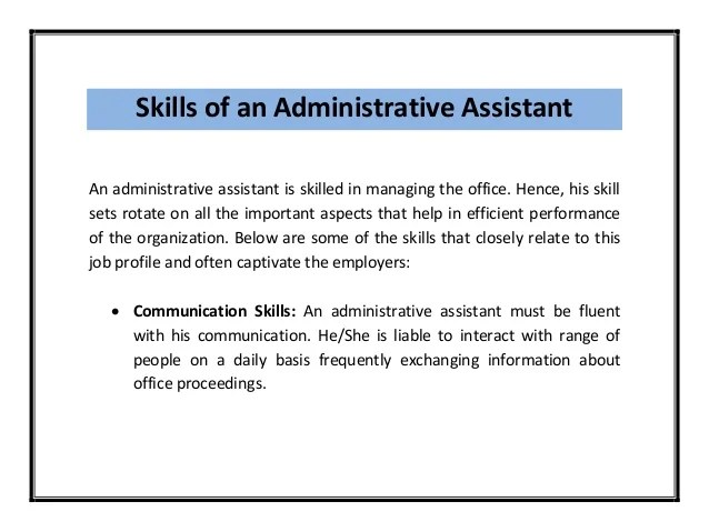 administrative assistant resume samples pdf professional resumes