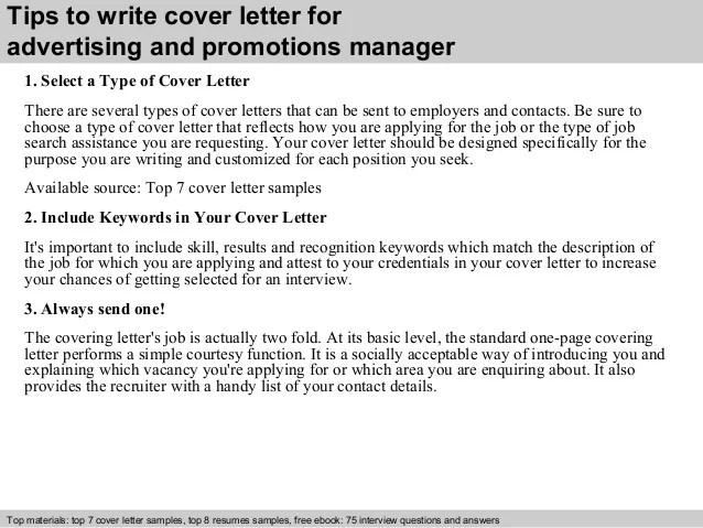 cover letter for promotion to manager - Josemulinohouse