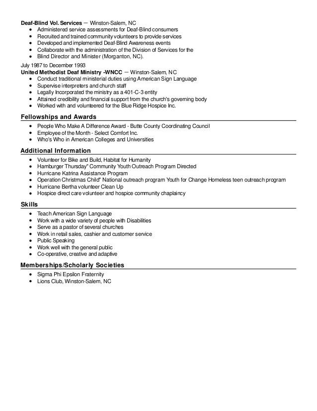 resume services winston salem nc