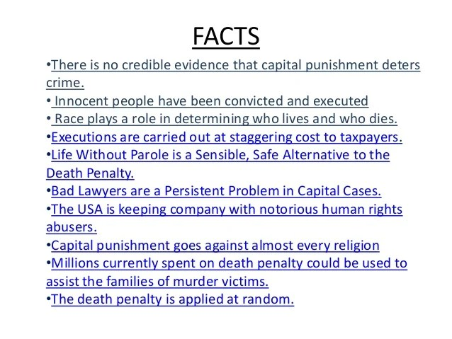 essay about capital punishment death penalty - Selol-ink