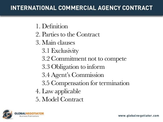 agent contract template - Onwebioinnovate