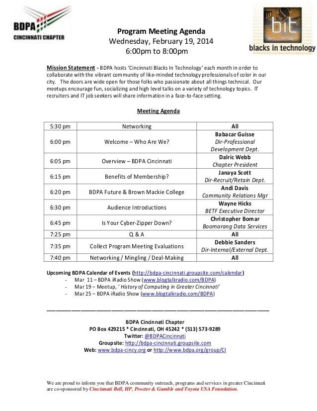 conference agenda examples - Alannoscrapleftbehind